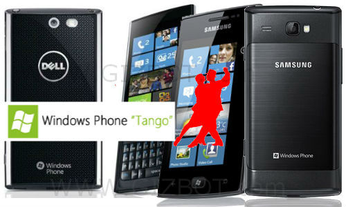 Windows Tango OS update for Dell Venue Pro and Samsung Omnia W phones