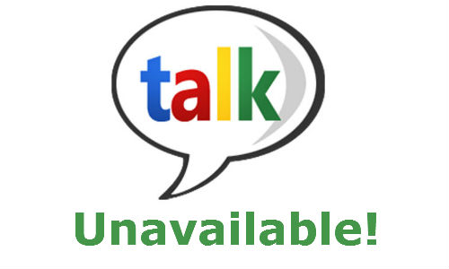 Outage: Google Talk down for 5 hours