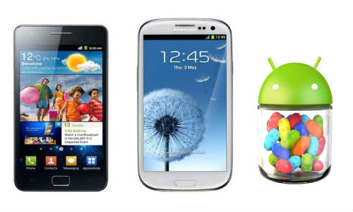 Samsung Galaxy S2 and S3 to get Android Jellybean update