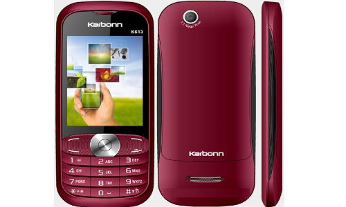 Karbonn K613 Vista dual SIM phone for Rs 2,500