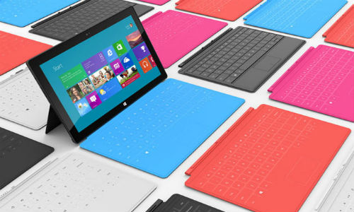 Microsoft Surface: Top 5 Rivals Ready to Challenge the New Windows 8 Tablet