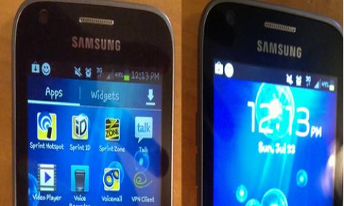 Samsung Gogh, a mid range Android ICS smartphone