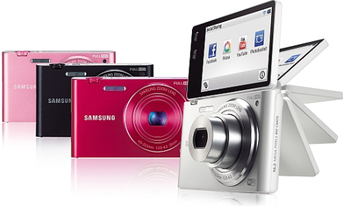 Samsung MV900F: A point and shoot camera with 180 degree multi-view
