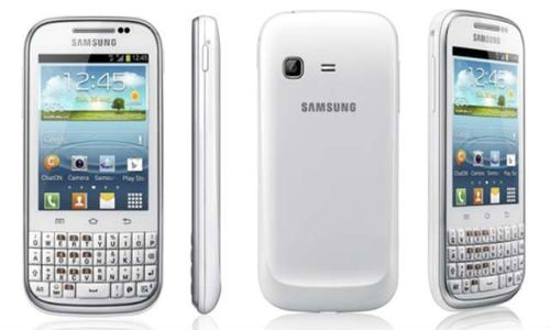 Samsung unveils Galaxy Chat with Android ICS