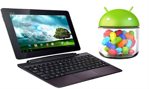 Selected Asus tablets to receive Android Jellybean update