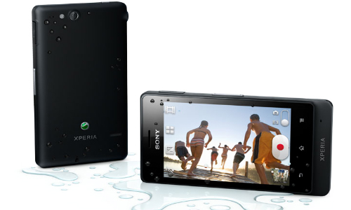 Sony Xperia Advance, an Android Gingerbread waterproof smartphone