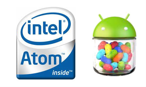 Intel based phones to get Android Jellybean update
