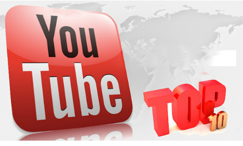 Top 10 most watched YouTube videos