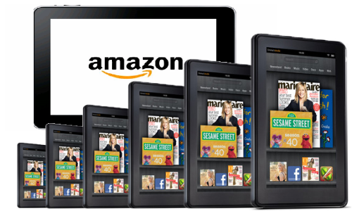 Amazon plans for 6 new Kindle Fire tablets