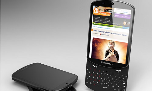 Blackberry 10 slider concept phone leaks
