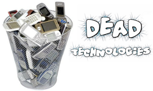 Dead technologies on mobile phones
