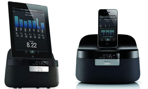 A new iPhone speaker cum sleep analyzer from Gear4