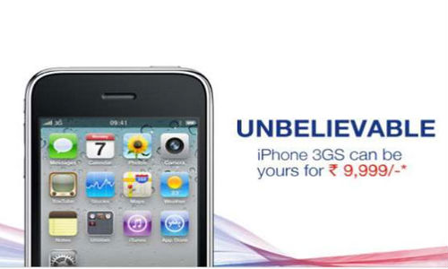 Aircel offers iPhone 3GS at Rs 9,999