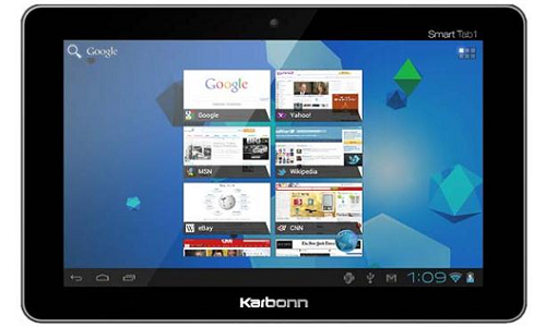 Karbonn Smart Tab 1: An Android ICS tablet for Rs 7,000