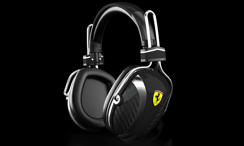 Scuderia Ferrari Collection headsets from Logic 3
