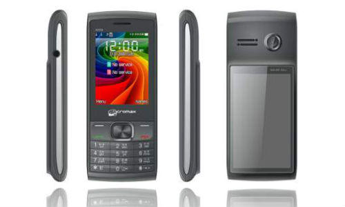 Micromax X259: Dual SIM solar phone for Rs 2,499