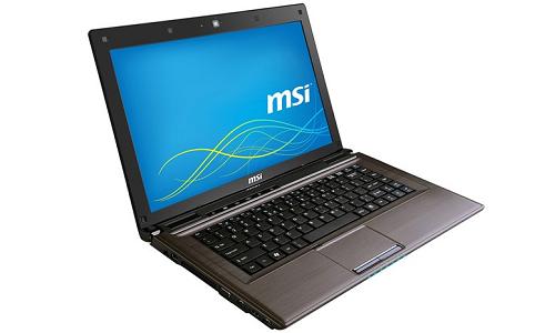 MSI's upcoming CR41 laptop to run on Windows 8
