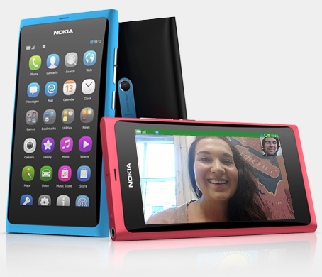 Software update for Nokia N9 smartphones
