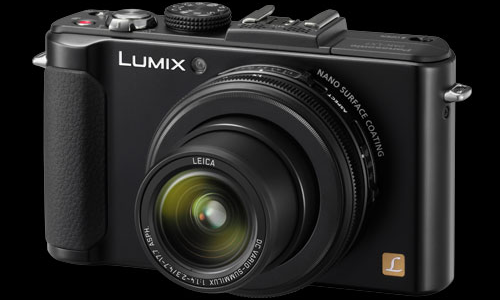 Panasonic Lumix LX7 camera powered by Venus Engine