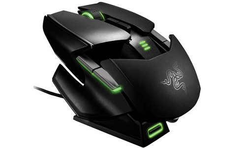 Razer Ouroboros gaming mouse with shape changing feature