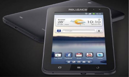 Reliance launches 3G Tab for Rs 14,499