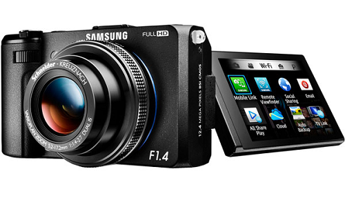 Samsung EX2F: A point-and-shoot camera