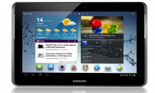 Samsung 10.1 inch Galaxy Tab 2 specifications