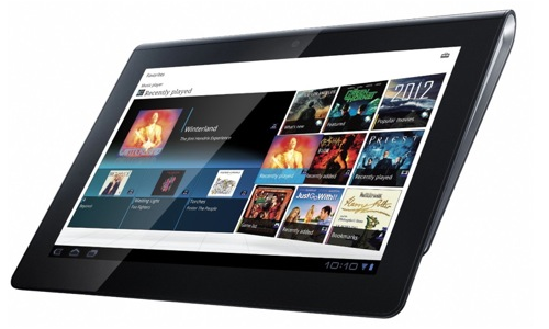 Sony Tablet S gaming friendly features review
