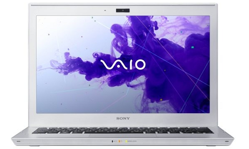 Sony VAIO T13 laptop powered by Ivy bridge processor