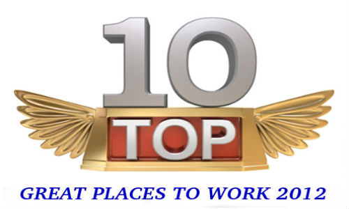 Best companies to work for India for 2012
