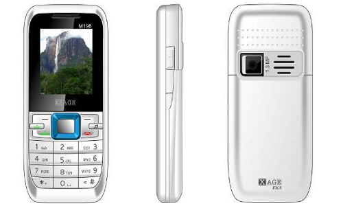 Xage M198 EKA dual SIM music phone for Rs 1,400