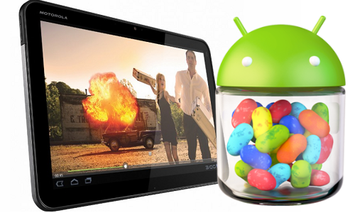 Motorola Xoom to receive Jelly Bean update