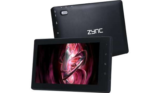 Zync Z-999 Plus Android ICS tablet review