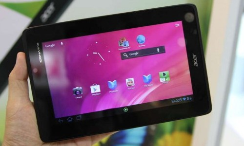 Acer A110 spotted in the wild running on Jelly Bean; Low-Cost tablet Fight to get Fiercer