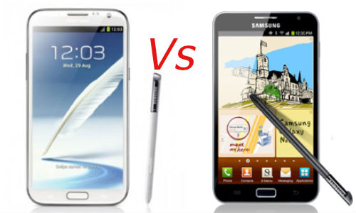 Samsung Galaxy Note 2 vs Samsung Galaxy Note: How is the New Phablet Superior to the Predecessor?