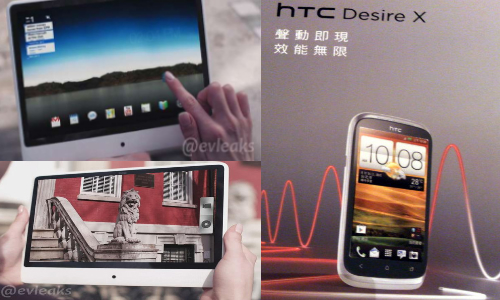 HTC Mystery Tablet, Desire X Gets Pictured and Leaked Ahead of IFA 2012