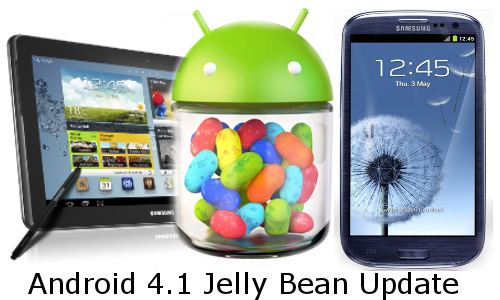 Jelly Bean Update: Samsung Galaxy S3 and Note 10.1 to Get Android 4.1 'Very Soon'