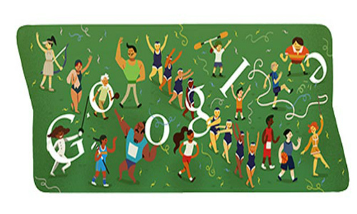 London Olympics 2012: Google Bids Farewell with Cheerful Doodle on Closing Ceremony