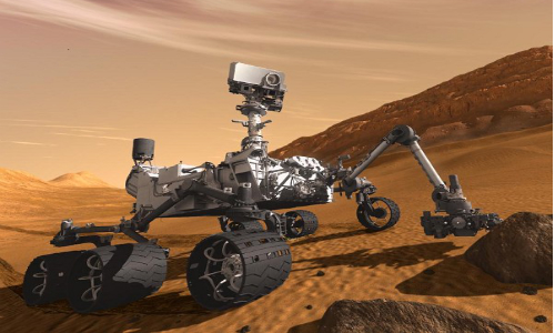 NASA Rover Returns Voice And Telephoto Views From Martian Surface [Pictures]