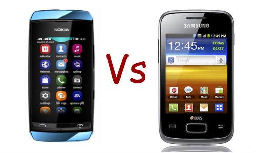 Nokia Asha 305 vs Samsung Galaxy Y Duos: Which One Should You Buy?