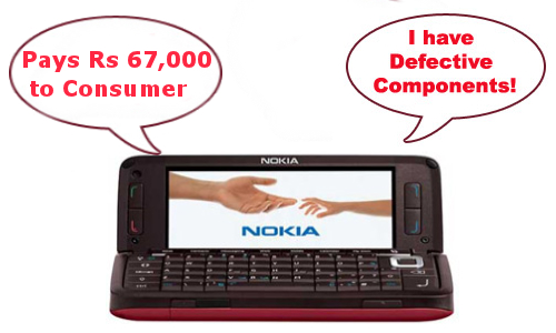 Nokia to Compensate For Selling a Defective Phone: Pays Rs 67,000 to Consumer