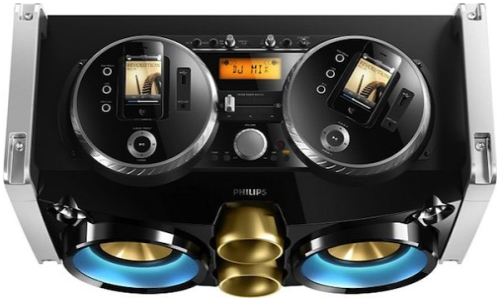 Philips unveils 300W iPhone portable DJ controller/Hi-Fi Party Machine