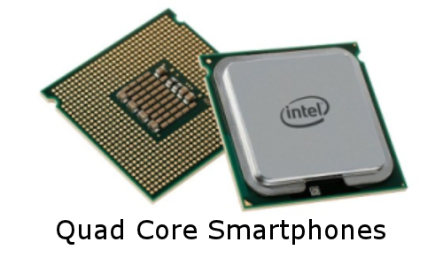 Top 5 Latest Quad Core Smartphones of 2012