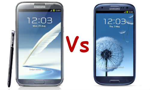 Samsung Galaxy Note 2 Vs Samsung Galaxy S3: Battle Within the Family