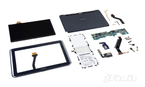 iFixit: Samsung Galaxy Note 10.1 Outshines Apple New iPad In Repairability Test [Pictures]