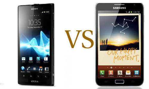 Sony Xperia Ion Launched in India: Will it outshine Samsung Galaxy Note? [Specs Comparison]