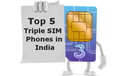 Top 5 Best Selling Triple SIM Phones