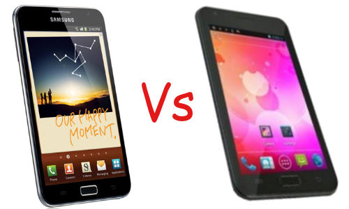 Wicked Leak Wammy Note Vs Samsung Galaxy Note: David and Goliath Fight Begins