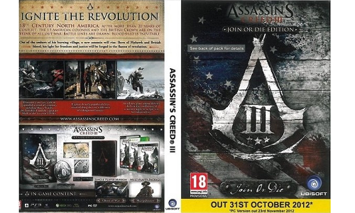 Assassin's Creed 3 PC Version Gets Delayed to November