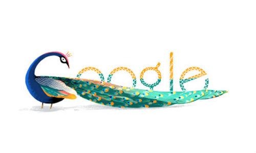 Google celebrates India Independence Day with National Bird Doodle
